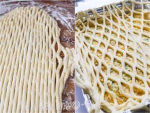 сеточка на пироге
