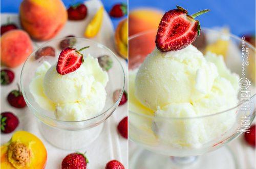 молочное мороженое