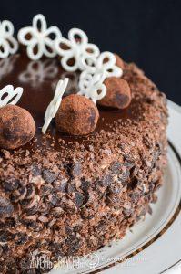 трюфельный торт рецепт с фото