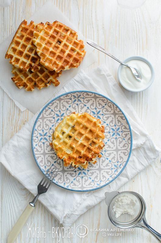 творожные вафли рецепт