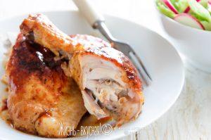 из курицы на сковороде