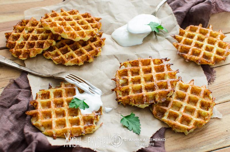 картофельные вафли рецепт