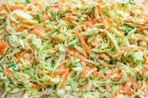 салат из свежей капусты с морковью рецепт