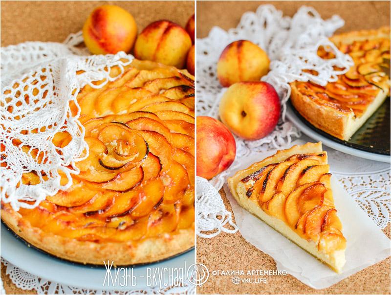 пирог с нектаринами рецепт с фото