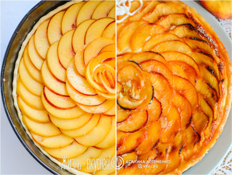 пирог с нектаринами в духовке