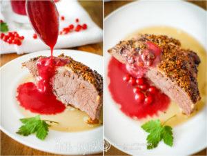 соус из красной смородины к мясу
