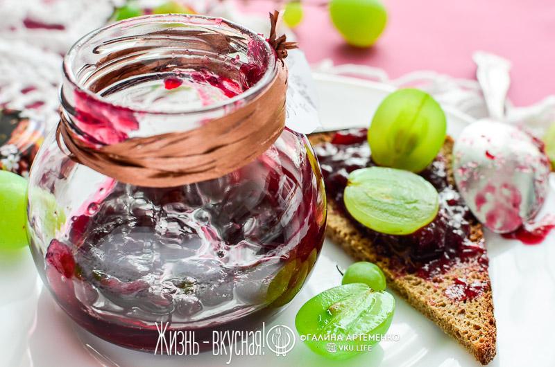 виноград варенье джем