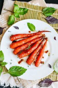 карамелизованная морковь рецепт
