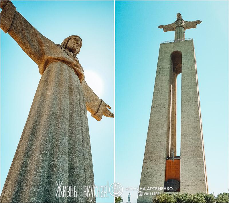 статуя христа лиссабон