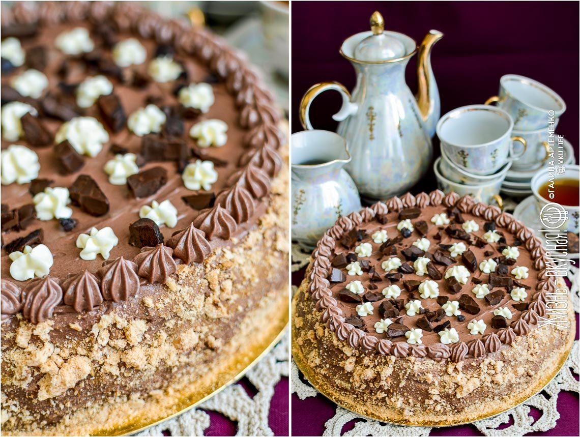 торт киевский по госту