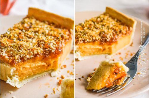 вкусный пирог из тыквы
