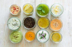 заправки для салатов рецепты