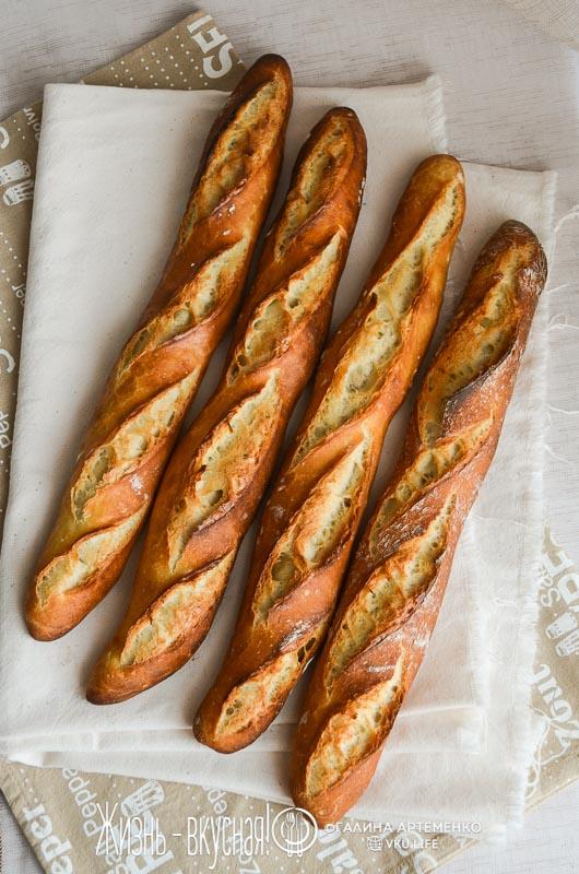 французский багет рецепт в духовке
