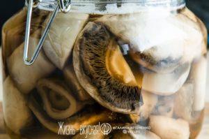 рецепт маринованных грибов шампиньонов