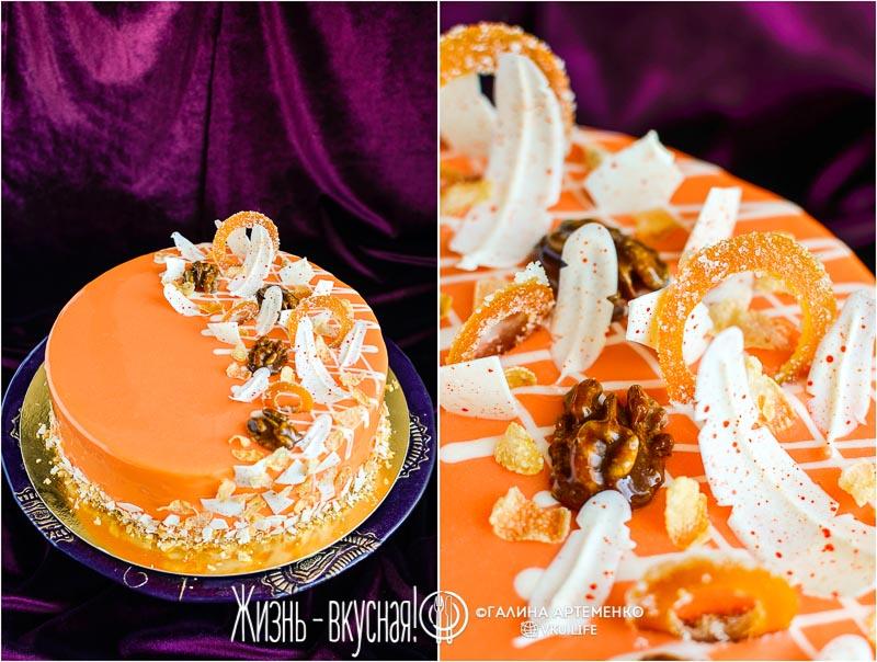 рецепт торта морковный с апельсином