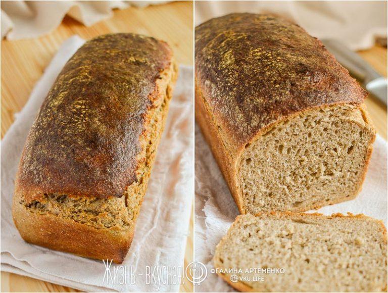 хлеб столовый рецепт