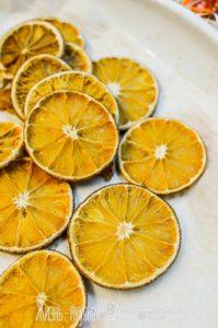 как сделать сушеные апельсины