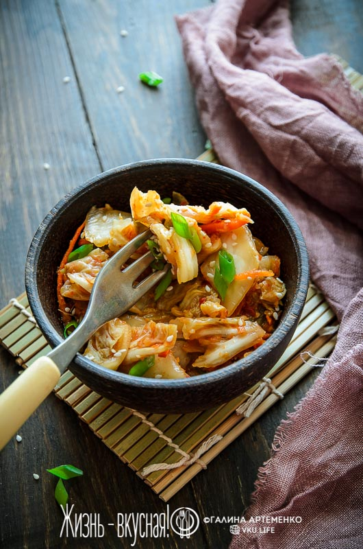 рецепт кимчи из пекинской капусты