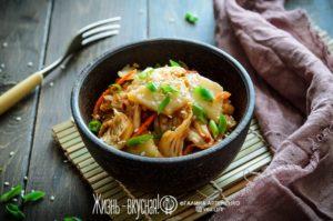 кимчи по корейски из пекинской капусты
