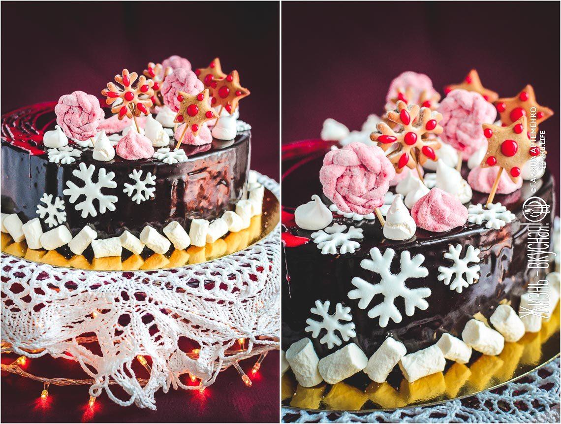 рождественский торт рецепт