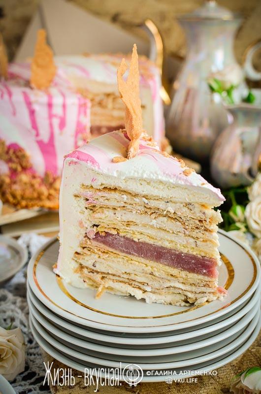 торт наполеон по новому нереально вкусный