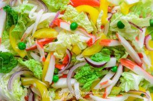 вкусный салат с пекинской капустой рецепт
