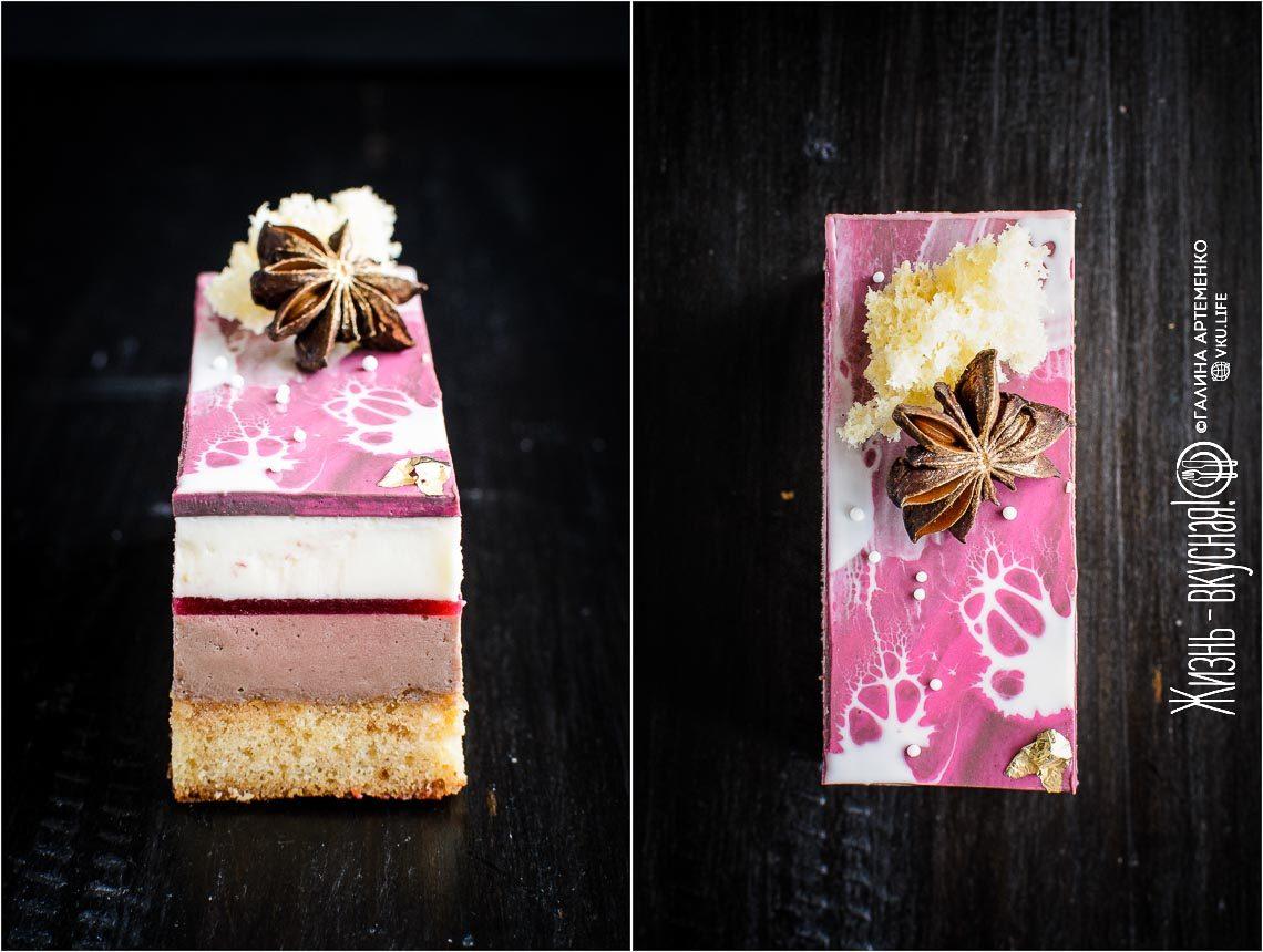 мария селянина торт малина анис