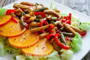 рецепты вкусных мясных салатов