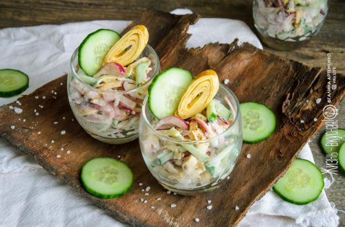мясные салаты рецепты