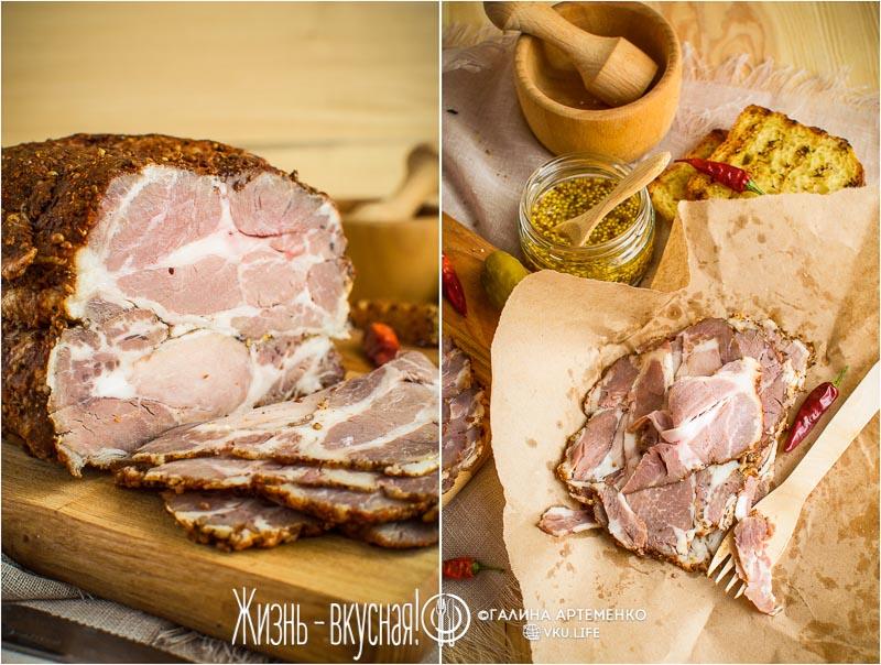 пастрома из свинины в домашних условиях