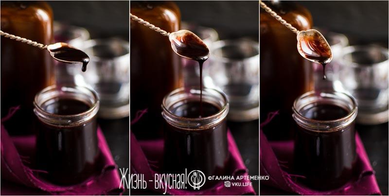 рецепт шоколадного сиропа
