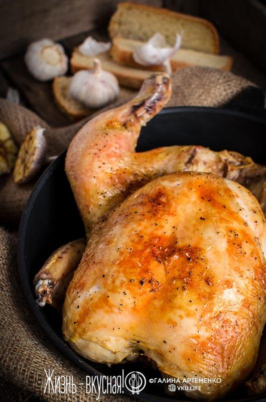очная курица в духовке