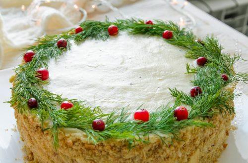 закусочный торт наполеон
