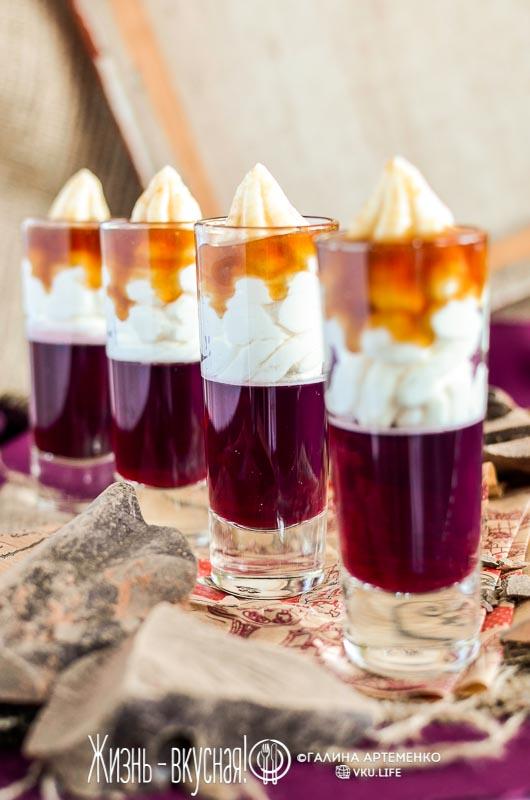 десерт в стакане рецепт