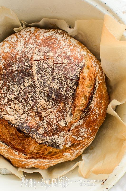 рецепт хлеба без замеса