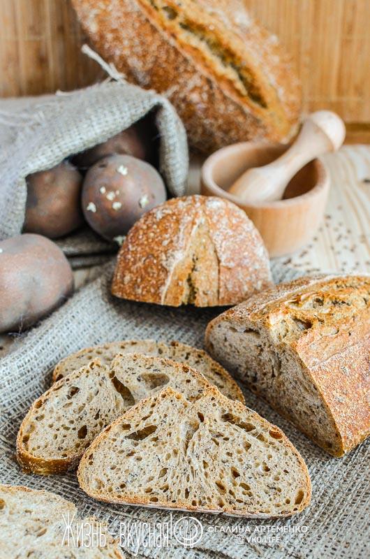 рецепт хлеба с семенами льна