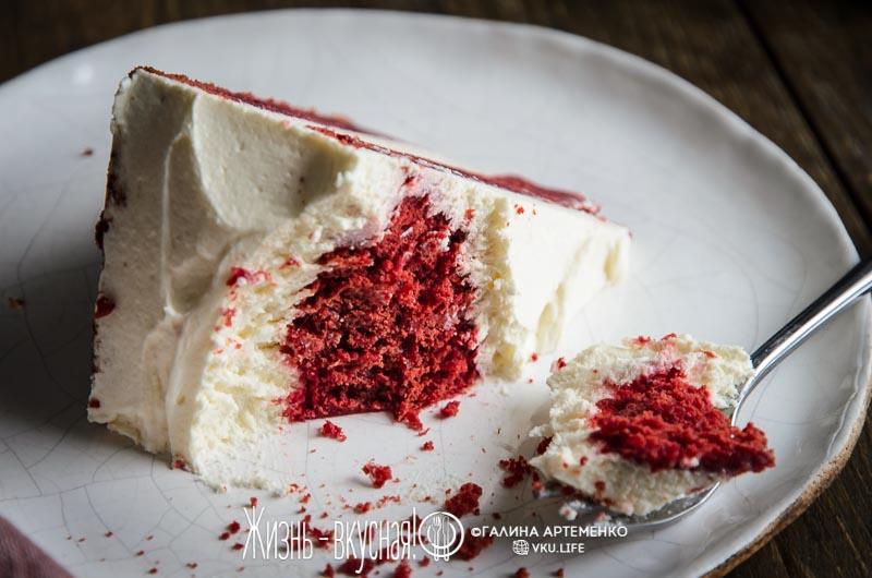 красный бархат рецепт без красителя