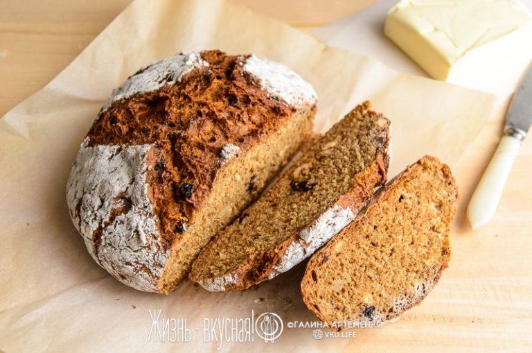 быстрый хлеб за 5 минут