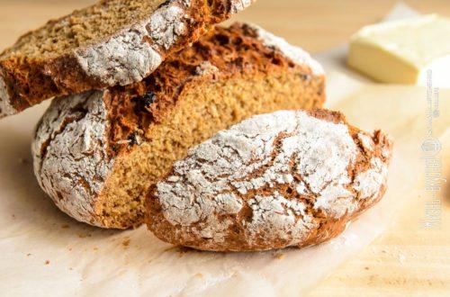 хлеб без дрожжей на кефире
