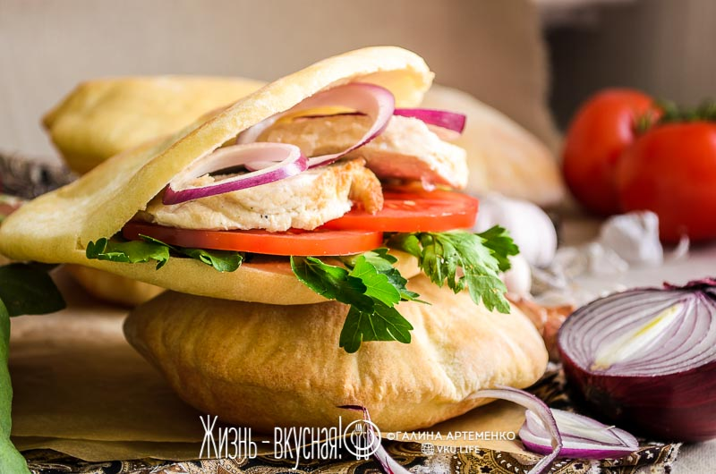 арабский хлеб пита