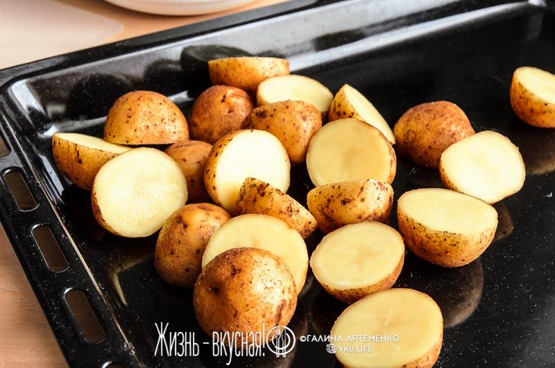 печеная картошка в духовке рецепт