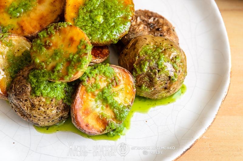 картошка печеная в духовке в кожуре