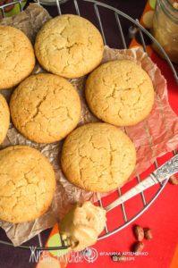 печенье с арахисовой пастой рецепт
