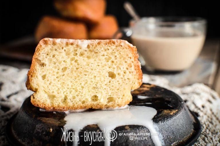 пирожное ромовая баба