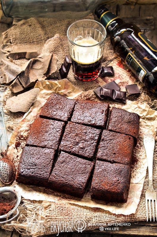 рецепт брауни шоколадный