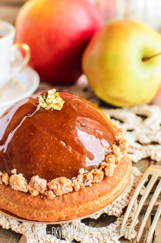 тарт татен яблочный