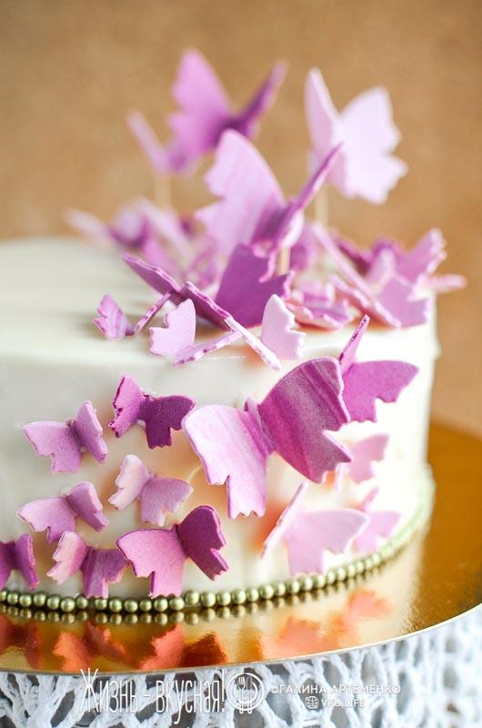 очень нежный торт