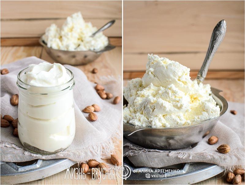 как сделать творог из йогурта