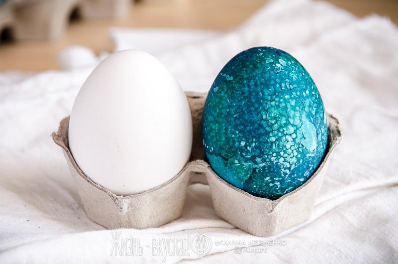 яйца на пасху без химии