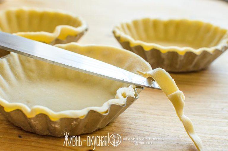 как сделать песочное тесто для пирога